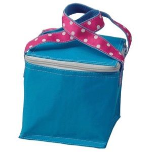 🍭3/$25 🍭 Snack square lunch tote Blue